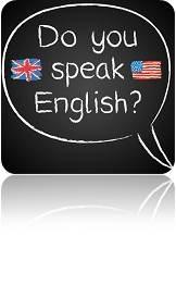 英語を話しますか?ロゴ